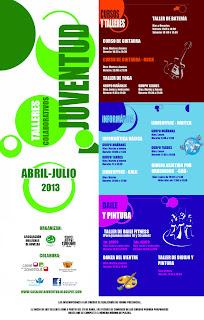 Ayuntamiento de Novelda CARTEL_CURSOS+Y+TALLERES+ABR-JUL TALLERES COLABORATIVOS ABRIL - JULIO 2013