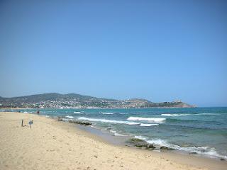 Playa de Tabarka - Túnez