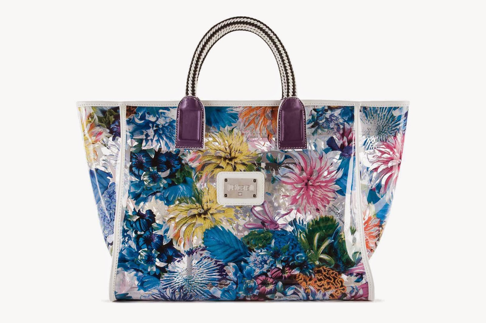 Just Cavalli Tote Bag