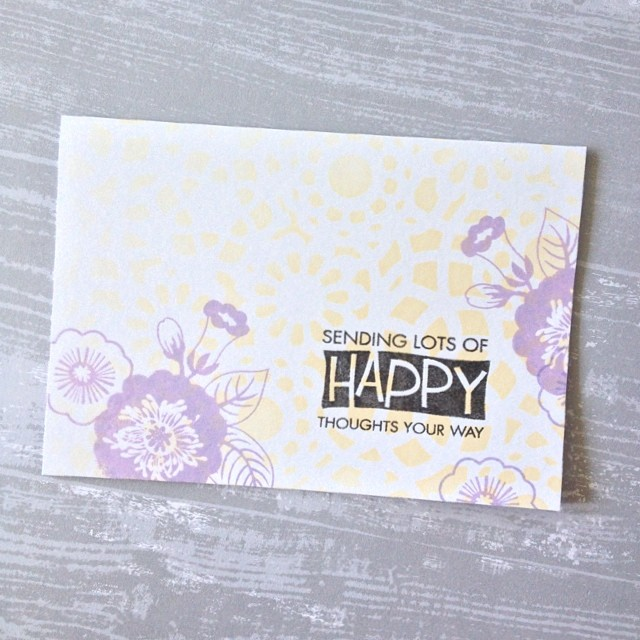 I'm sending lots of happy thoughts your way! | Small T Creations