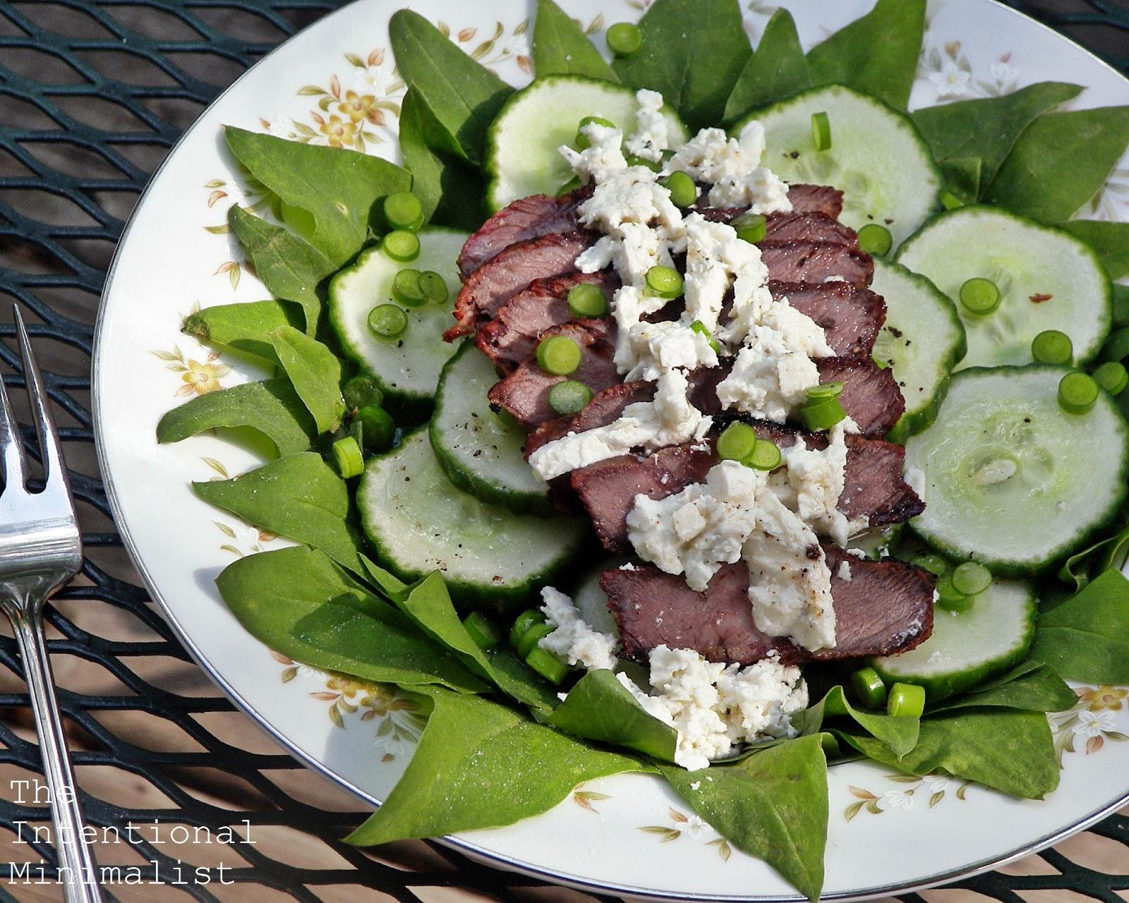 Hanger Steak Salad   The Intentional Minimalist