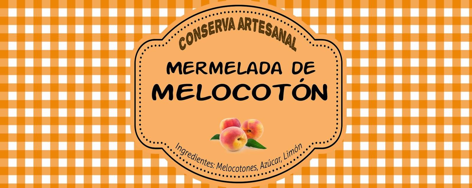 Mermelada de melocotón casera ~ Con ajo y perejil