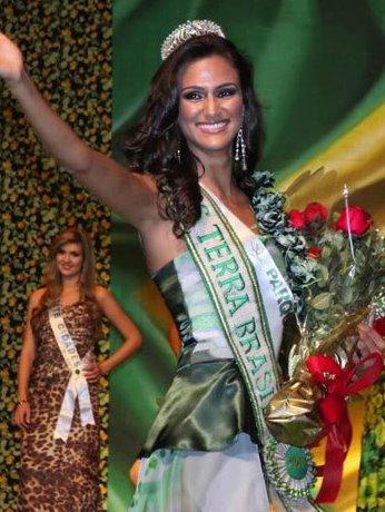 Drielly Bennettone,miss earth air 2011,miss earth brazil 2011