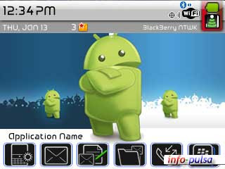 Android - BlackBerry Theme