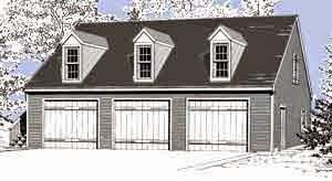 Colonial Style Garage Plans Garage Plans Blog Behm