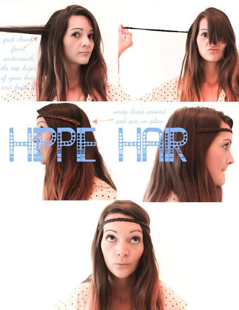 Hippie hair style tutorial | Beauty Tutorials