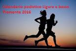 Calendario podistico ligure e del basso piemonte 2016