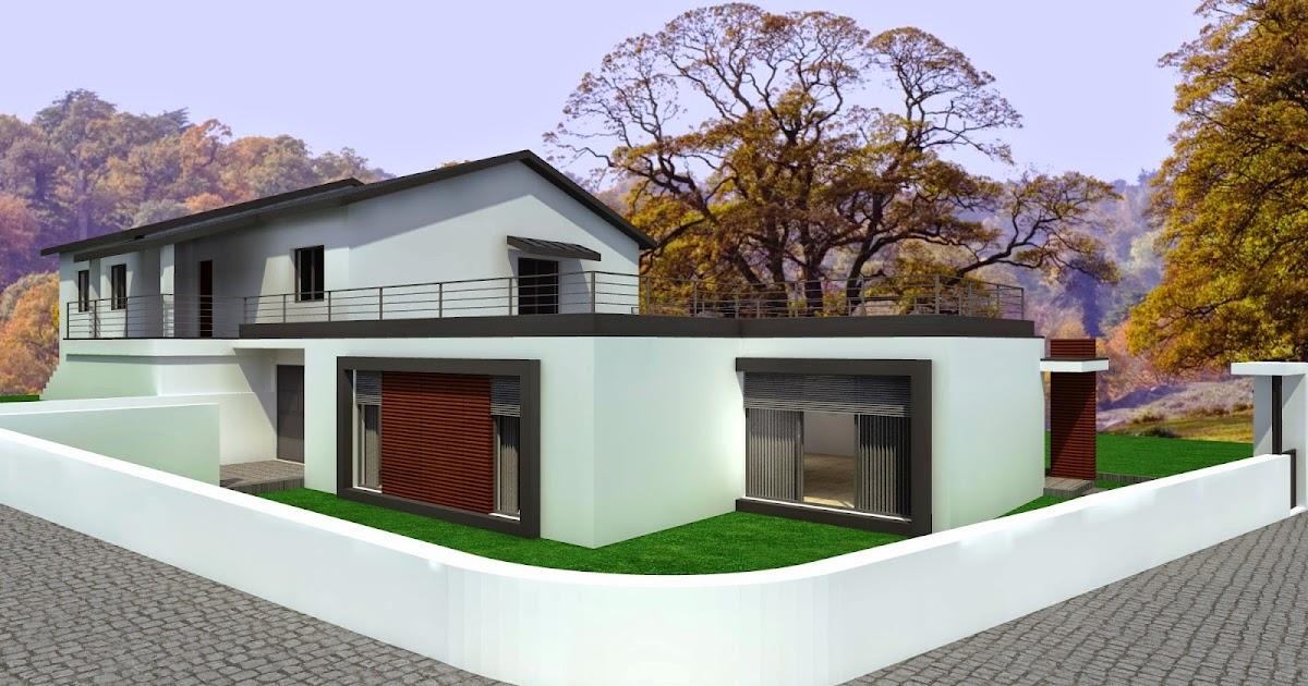 Casas modulares steel houses steel houses santo tirso - Casas modulares minimalistas ...