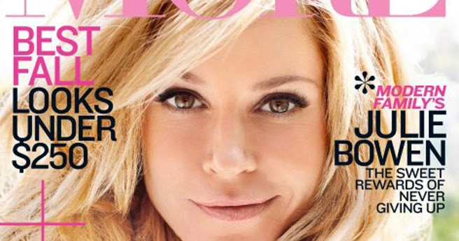 julie bowen covers more magazine september 2011