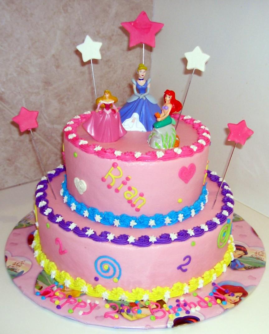 Украшение торта на 5 лет девочке фото