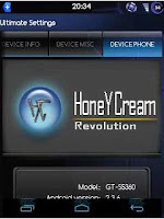 HoneyCream 4.1.1 Custom ROM For Galaxy Y