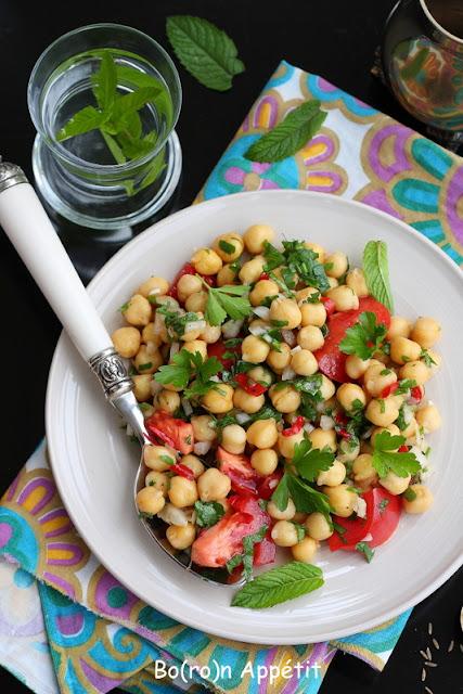 Nohut salatasi przepis