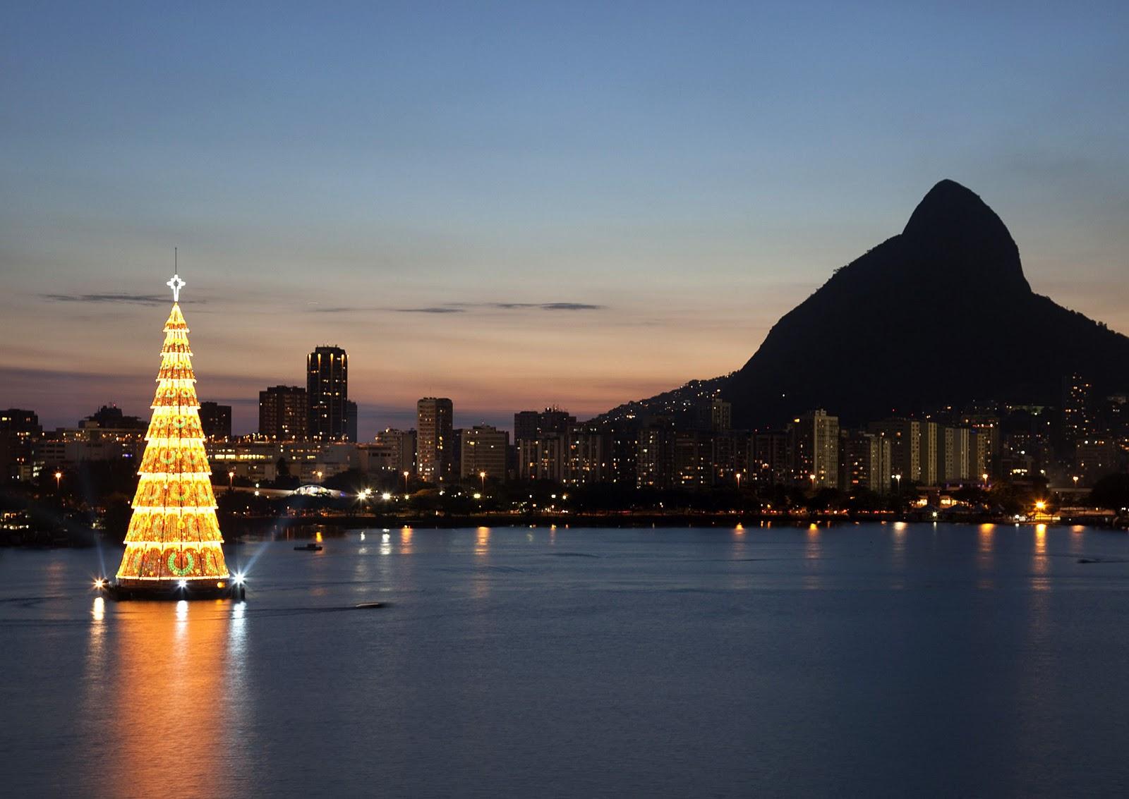 Rio de janeiro weihnachtsbaum
