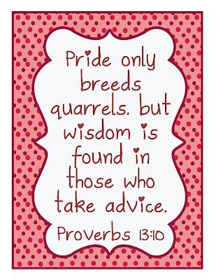 gwhizteacher, proverbs 13:10, id badge verse