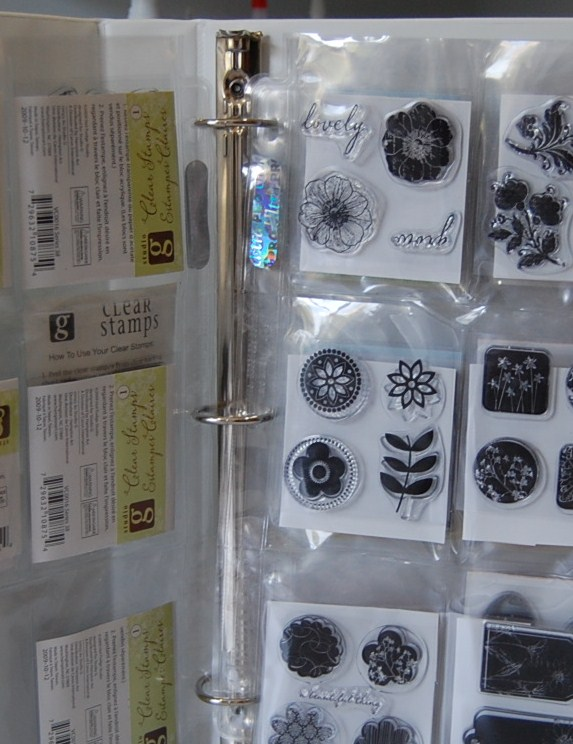 & Joyfully Made Designs: Acrylic Stamp Storage
