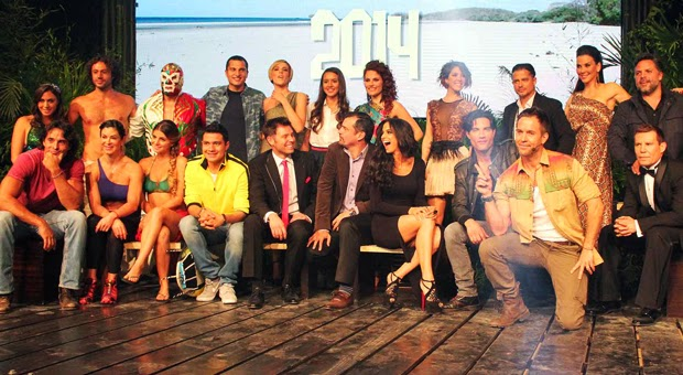 Participantes de La Isla, el reality 2014 | Ximinia
