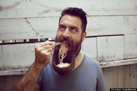Ramen Beard And Other Strange Beard Stylings