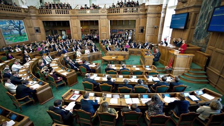 El Parlamento de Dinamarca