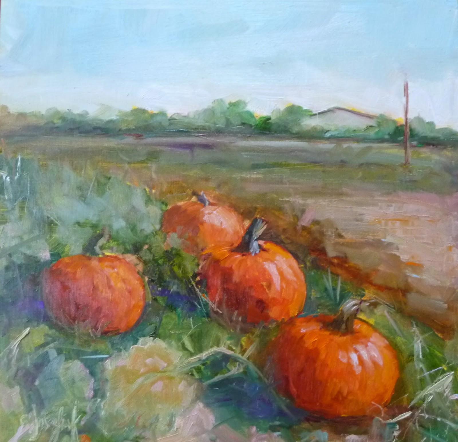 Pumpkin Paintings For Sale