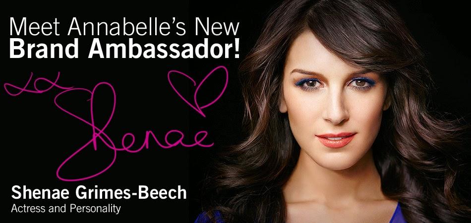Shenae Grimes-Beech, ambassadrice pour Annabelle au Canada anglais