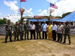 Lawatan YB Datuk Haji Mohd Suhaili Haji Said ke Kem Tentera di Kg. Pamanhutan, Tambisan