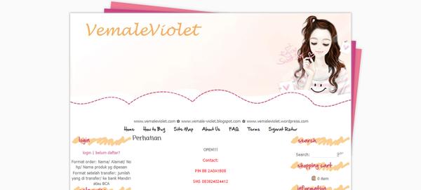 Vemaleviolet.com Toko Online Kosmetik Terpercaya