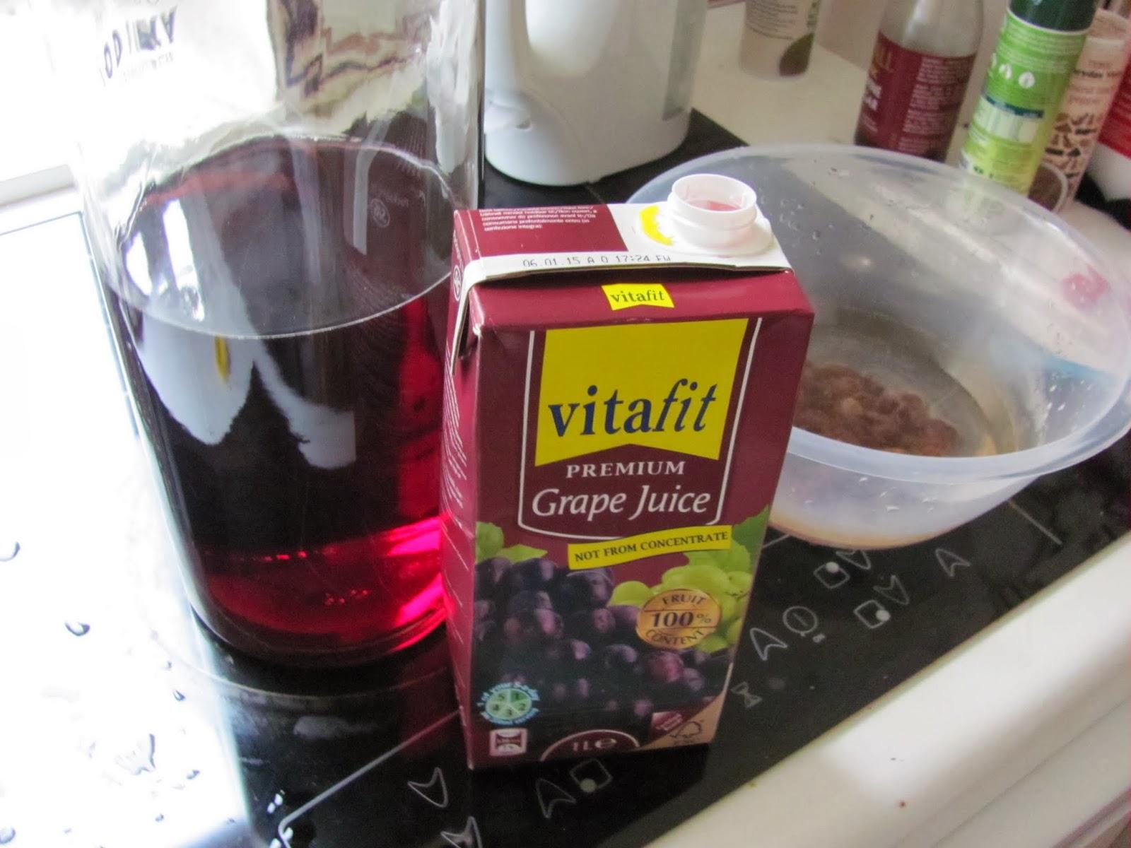 Grape Juice Wine Ingredients