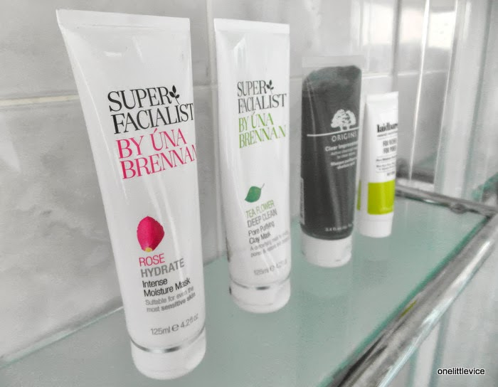 hydrate deep cleanse and exfoliating options