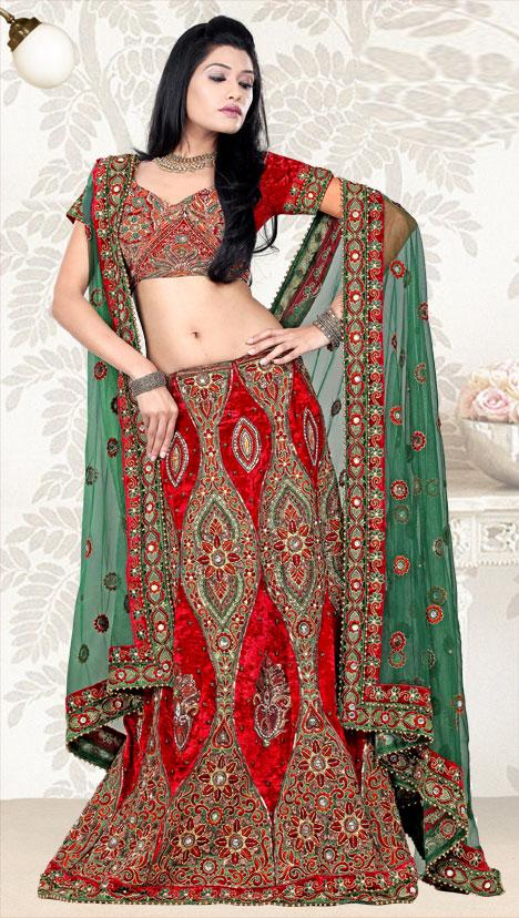 indian wedding dresses 2011
