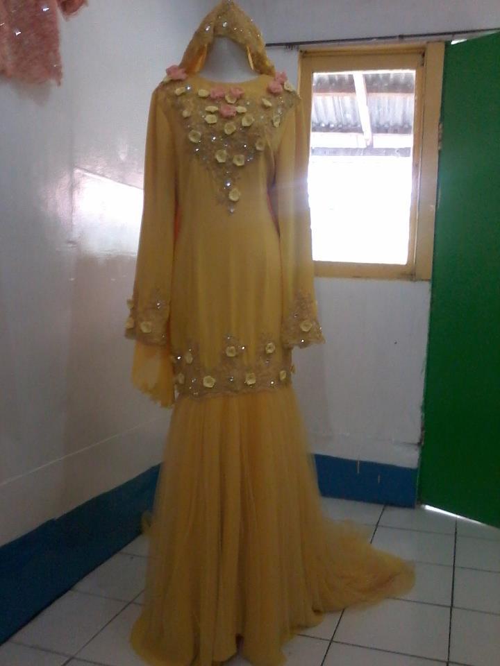 baju pengantin color kuning .Terima kasih telah membaca artikel: baju ...