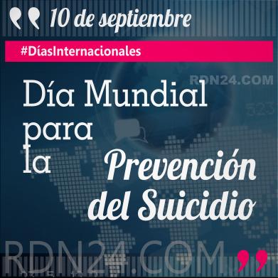 Día Mundial para la Prevención del Suicidio #DíasInternacionales