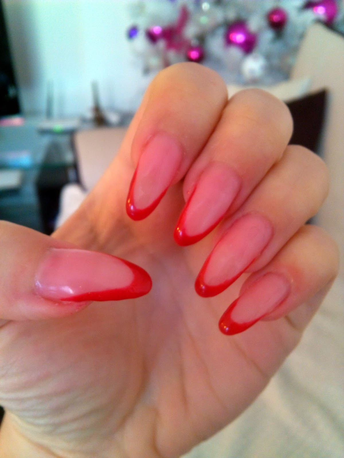 Style Sense Moments: Nails | Red french manicure