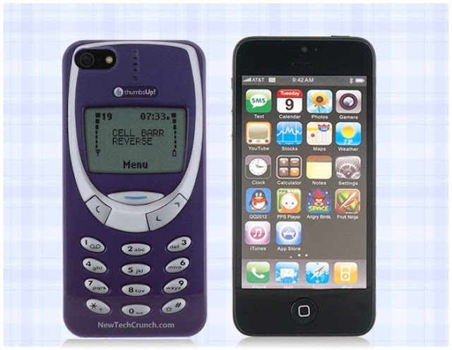 Retro Nokia 3310 Cover for iphone 4 4s 5