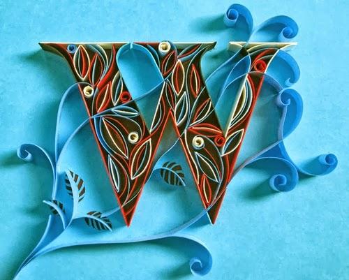 23-W-Quilling-Illustrator-Typographer-Calligrapher-Paper-Sculptor-Sabeena-Karnik-Mumbai-India-Sculptures-A-to-Z-www-designstack-co