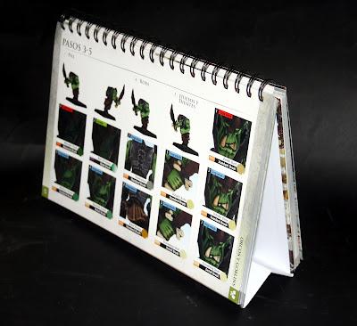 formato calendario de mesa de Como pintar miniaturas citadel