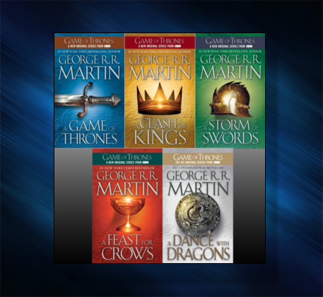 A Song of Ice and Fire, sci-fi novel series