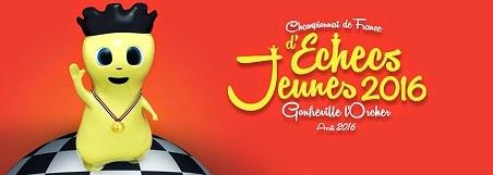 Échecs & Jeunes : prochain championnat de France jeunes 2016