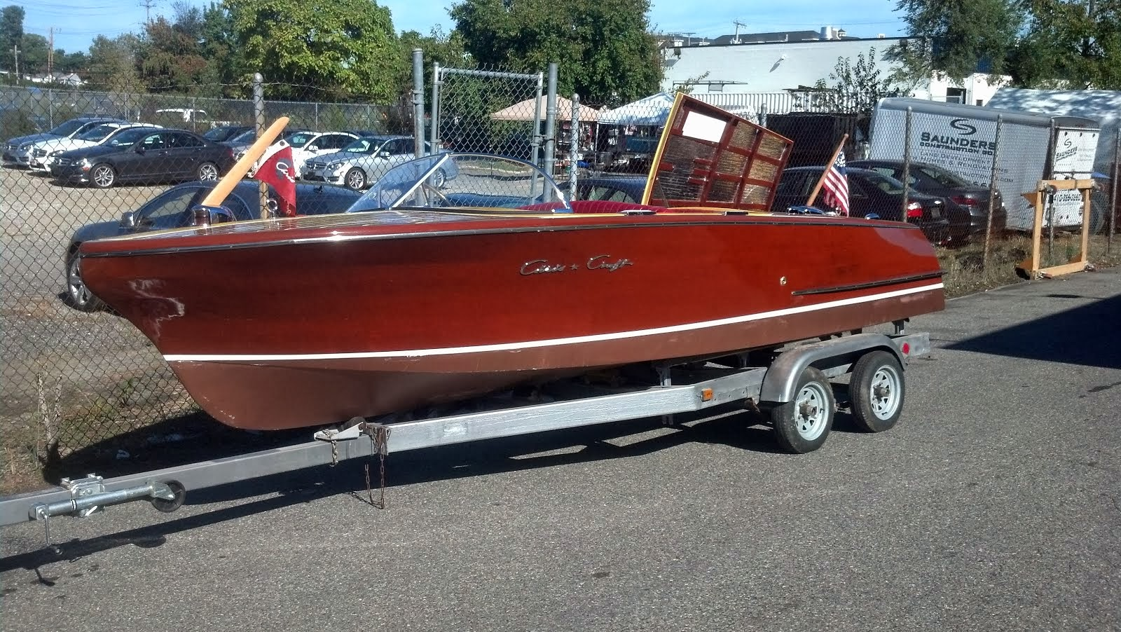 After - 1956 Chris-Craft Capri 19'