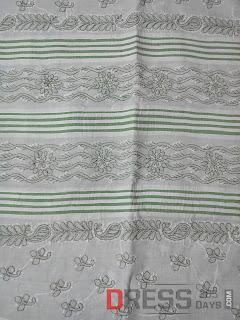 Green-white-Chikankari-dress-material