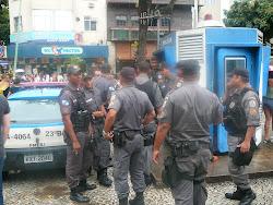Heavy Security, Carnivale, Rio de Janeiro