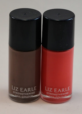 Liz Earle Strengthening Nail Colour Ebb Tide and Parade