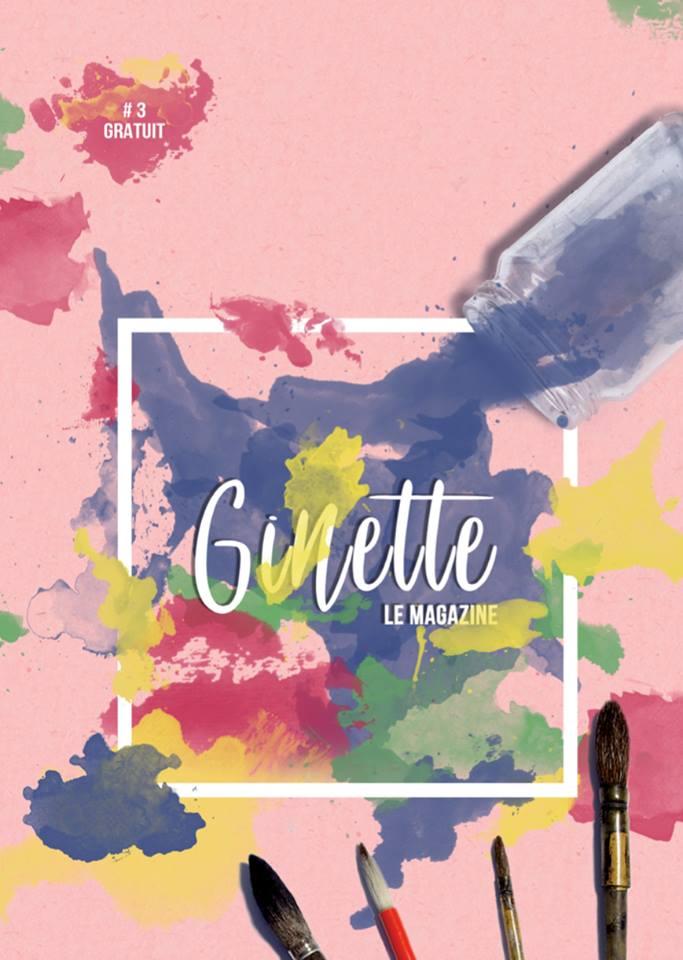 Retrouvez mon 1er article dans Ginette Le Magazine #3