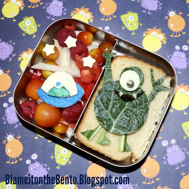 Alien bento lunch