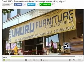 Uhuru Furniture helping expose and defeat thief stealing local business names (including our own)