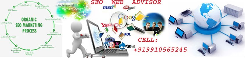 SEO WEB ADVISOR, SEO Tutorial, SEO Services, Website  Designing  , SEO services India, SEO in Delhi