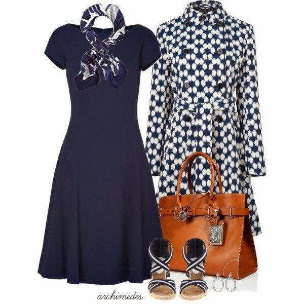 Black And White Ladies Outfit Set: