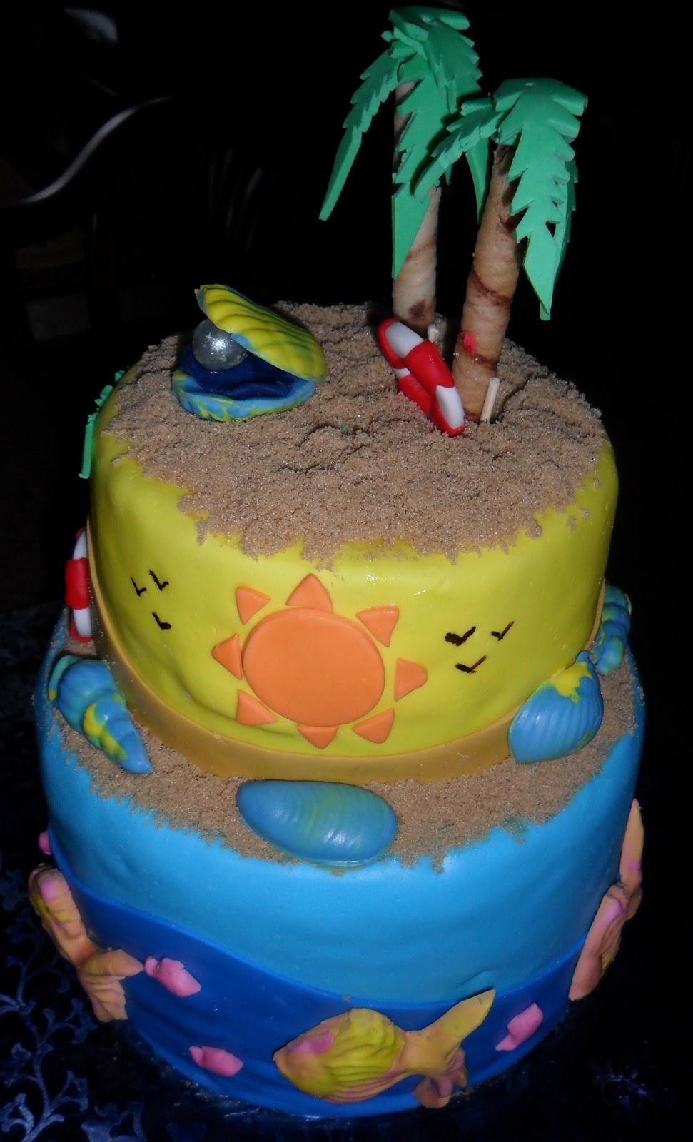 Larry The Cake Guy Summer Birthday X4
