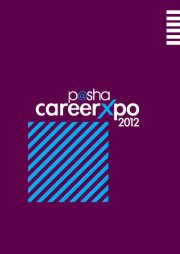 P@SHA Career Expo 2012, I.T Expo in LUMS, Lahore, Events in LUMS Lahore