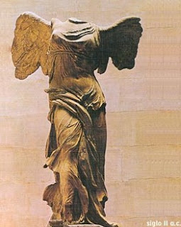 Escultura Griega - Victoria de Samotracia, La Escultura Griega, Escultura Griega,