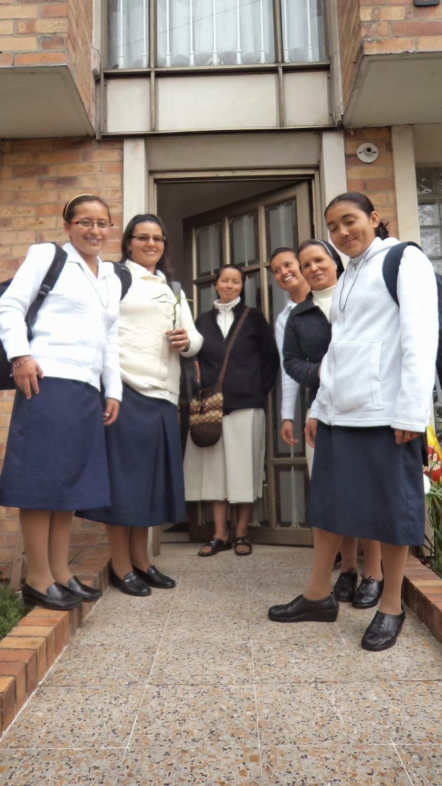 Saliendo del Aspirantado al Postulantado